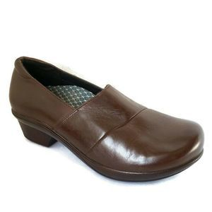 ABEO Camden Leather Clogs Resistant Booties Shoes